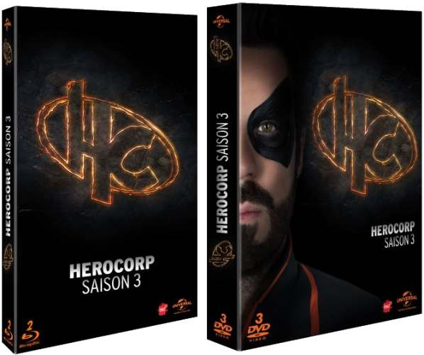 Photo des DVD et Blu-Ray de Hero Corp saison 3