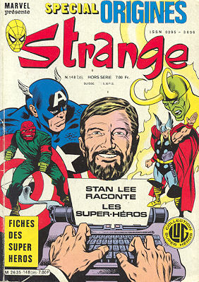 Couverture de Strange origines par Mitton